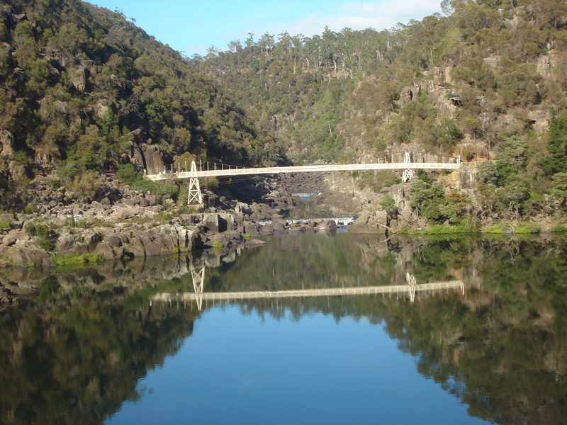 launceston- Pont supendu