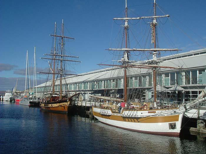 Vieux-grements-port-de-Hobart